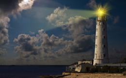 Lighthouse Widescreen HD Wallpaper 495