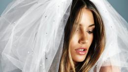 Model Lily Aldridge Bride Wallpaper 1582