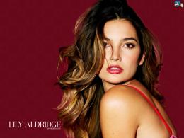 Lily Aldridge 1024x768 Wallpaper # 10 1792