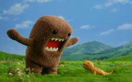 Domo kun and lizard wallpapers and images 1083