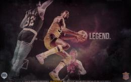 Magic Johnson HD background 1037