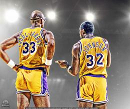 Abdul Jabbar and Magic Johnson Wallpaper 1751