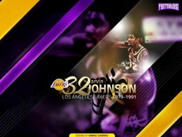 "Magic Johnson ""Legends"" Wallpaper 290"