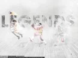 Magic Johnson, Larry Bird, Michael Jordan – 'Legends'WALLPAPER 1777