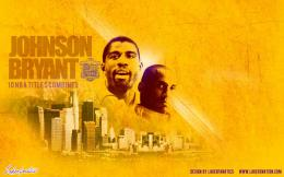 Wallpaper: Kobe Bryant & Magic Johnson Own Los Angeles | Lakers Nation 668