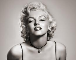 1280x1024 Marilyn Monroe Grayscale desktop PC and Mac wallpaper 1233
