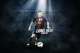 Lionel Messi 2013 HD Wallpaper 1345