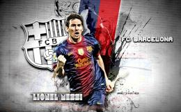 Beautiful HD wallpaper Barcelona FC 2013: Lionel Messi 1676