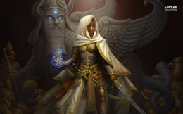 Middle eastern warrior queen wallpaper 1280x800 1683