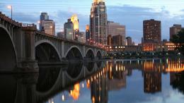 minneapolis skyline river wide high definition wallpaper 855