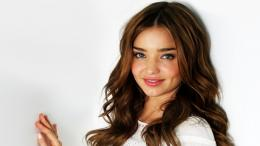 Miranda Kerr smile wallpaper in high resolution for freeGet Miranda 1287