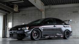 Black Mitsubishi Evo X Hd Wallpaper With Resolutions 1366×768 Pixel 964