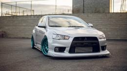 Mitsubishi Evolution Evo Tuning Radiator Intercooler HD Wallpaper 1200