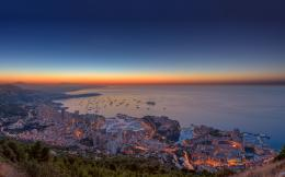 Monaco sunset Wallpapers Pictures Photos Images 775