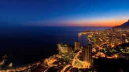 Monaco coastal city wallpaper night life city wallpaper 671