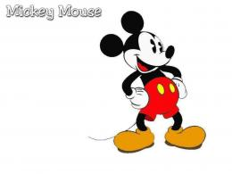 Mickey Mouse Desktop BackgroundHD Wallpaper 1745