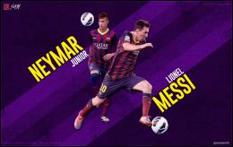 Home » Soccer Wallpaper » Neymar Lionel Messi Wallpaper HD 470