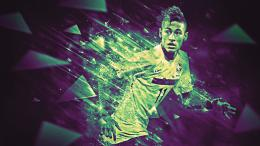 Neymar da Silva Santos Júnior, commonly known as Neymar, is a 854