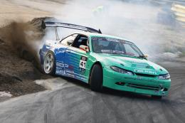 Nissan silvia drift car kd european s14 s15 HD Wallpaper 1977