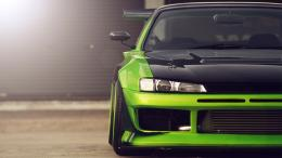 Green Nissan Silvia S14 Wallpaper 1722