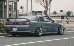 nissan silvia s14 street hd wallpaper 843