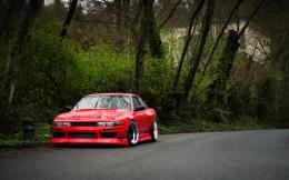 Nissan Silvia S13 in Red 1949
