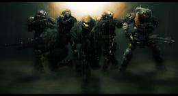Halo Reach Noble Team Soldier Weapon Video Game HD Wallpaper Desktop 1670