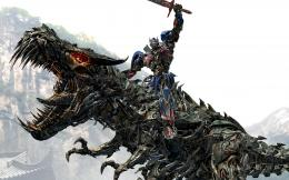 Optimus Prime Riding Grimlock 337