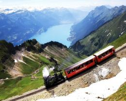1280x1024 Train climbing desktop PC and Mac wallpaper 789
