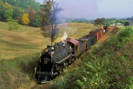 Download Classic Trains wallpaper, \'black steam train\' 1256