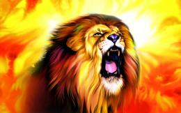 : hd wallpapers roaring lion picture animal resolution x wallpaper 1345