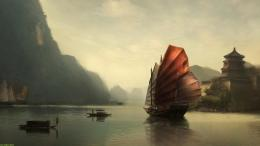 File Name : Chinese Ship Desktop Wallpaper HD 267