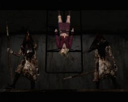 silent hill horror games girl guards HD Wallpaper of Games 1723
