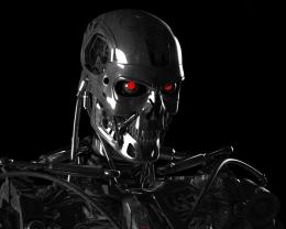 Download high quality 1280 x 1024 Terminator skeleton Wallpaper 1790