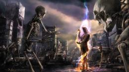 Skeletons In Dead City HD Wallpaper, Haunted HD Wallpaper, Ghost In 1248