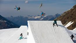 Of Steel Freestyle Skiing In Kaunertal Extreme Sports Hd Wallpaper 1033