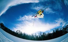 1440x900 Ski jump desktop PC and Mac wallpaper 1153