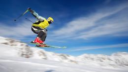 Extreme skiing HD Wallpaper 933