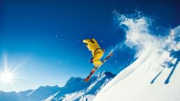 Skiing wallpaper 1424