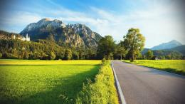 Spring Road Landscape Wallpaper 660