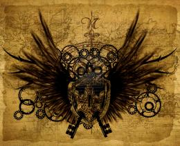 steampunk wallpaper stage 6 by xflucht customization wallpaper other 604