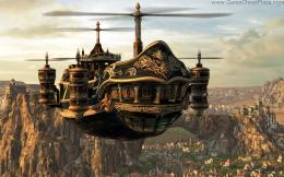 Steampunk Final Fantasy Game Resolution HD Wallpaper 1153
