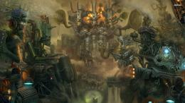 Steampunk Factory Artistic HD Wallpaper 1578