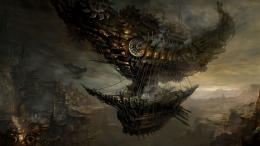 Steampunk Blimp HD Wallpaper 1585