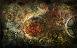 Steampunk Wallpaper Collage by Tarayue 1360