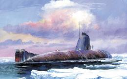 Download Submarine Art pictures in high definition or widescreen 1716
