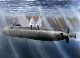 submarine underwater missile launch HD wallpaper 381
