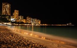 summer night lighting beach wide high definition wallpaper for best 1225
