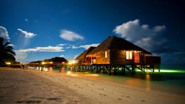 Summer tropical resort at night 1505