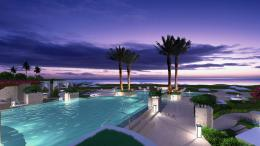 Download Amazing swimming pool near the beach High quality wallpaper 1454